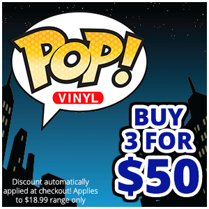 POP! Vinyl 3 For $50 Deal