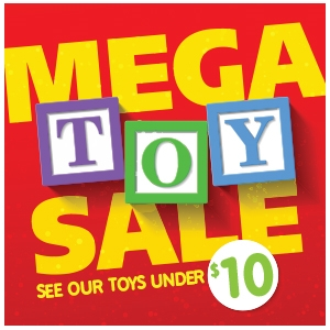 Mega Toy Sale Deals Under $10