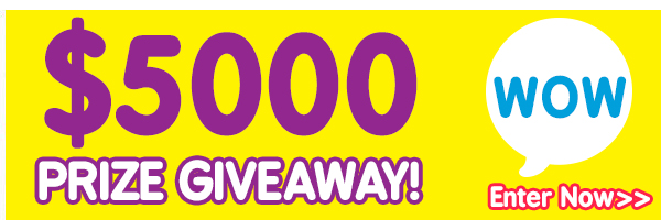 $5000 Prize Giveaway