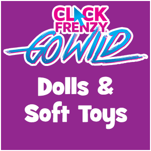 Click Frenzy Dolls & Soft Toy Deals