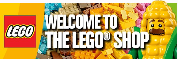 Welcome To The Lego Shop