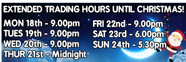 Store Locations & Christmas Trading Hours